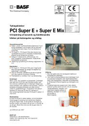 PCI Super E + Super E Mix - Basf
