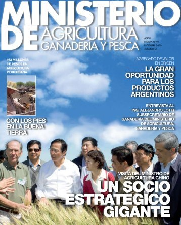 un socio estratégico gigante - Ministerio de Agricultura, Ganadería y ...