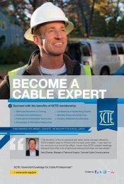 Download the SCTE Membership Benefits Brochure