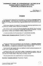 CRECIMIENTO JUVENIL DE 32 PROCEDENCIAS Y 203 ... - Inicio