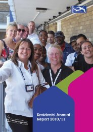 Residents' Annual Report 2010/11 - Swan Housing Association