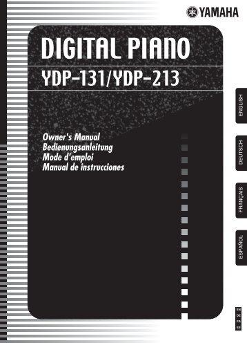 DIGITAL PIANO - Yamaha