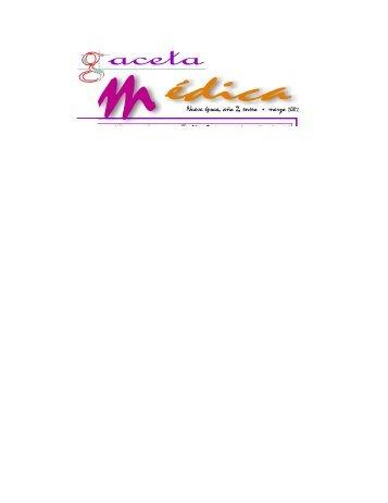 Nueva época, año 2, enero marzo - Secretaría de Salud