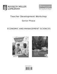 Economic and Management Sciences