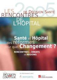 LES RENCONTRES L'HÔPITAL - Parhtage santé