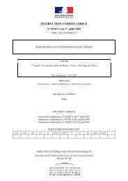 INSTRUCTION CODIFICATRICE - LexisNexis