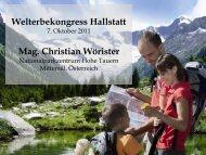 Mag. Christian Wörister