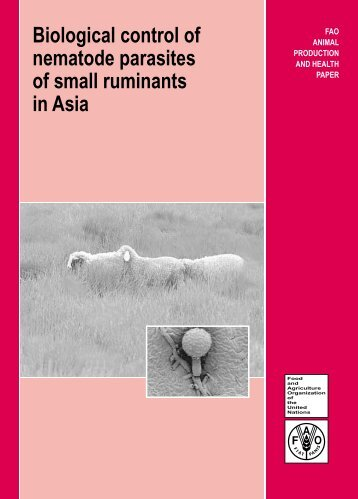 Biological control of nematode parasites of small ruminants in ... - INTA