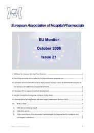 EU Monitor 22 October 2008