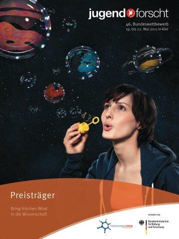 Preisträger - Jugend forscht 2011