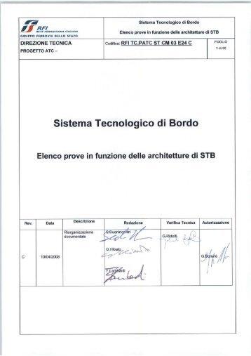 architetture stb - Trenitalia