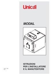 Caldaia Unical Modal - Certened