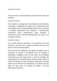Discurso de Tomada de Posse - CM Matosinhos