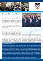 Thinking Skills - A Level Results