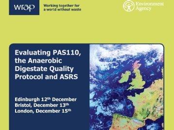 Combined PAS110 ADQP presentation - Biofertiliser
