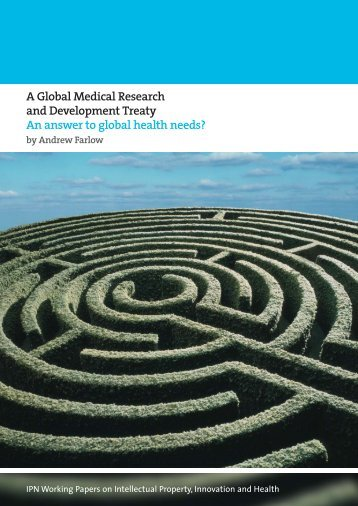 A Global Medical Research and Development Treaty - International ...