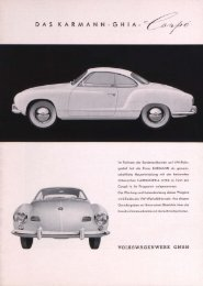 DAS KARMANN-GHIA- j% ß - Volkswagen Classic