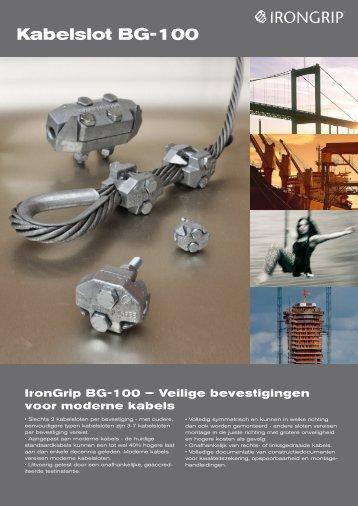 Kabelslot BG-100 - IronGrip