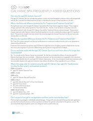 ageLOC Galvanic Spa FAQs - Nu Skin