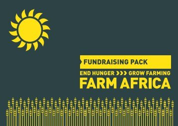 Fundraising pack - Farm Africa