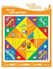 Download the Activity Sheets - Wisconsin Milk Marketing Board ...