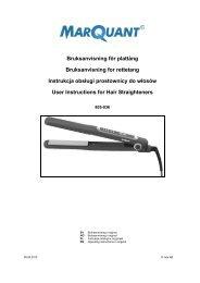 Instrukcja obsÃ…Â'ugi (278.9 KB - pdf) - Jula
