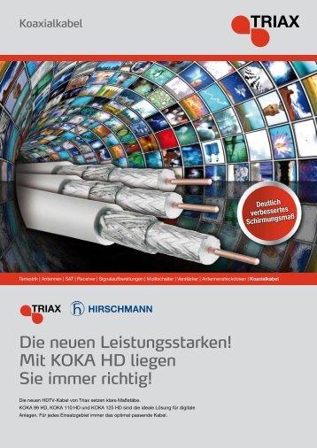 Mit KOKA HD liegen Sie immer richtig! - Triax