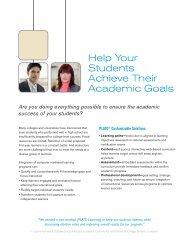 Help Your Students Achieve Their Academic Goals - Eskilon ...