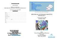 Programme 18 juin 2010
