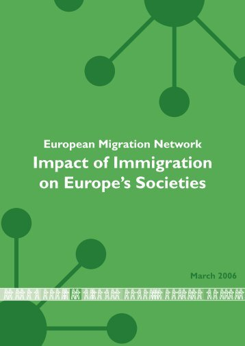 Impact of Immigration on Europe's Societies - European Commission