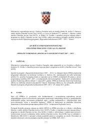 Izvješće o provedenom postupku strateške procjene utjecaja na ...