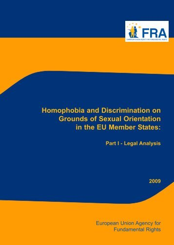 Homophobia and Discrimination on Grounds of Sexual Orientation ...