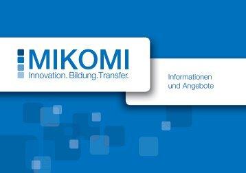 Informationen und Angebote - MIKOMI - Hochschule Mittweida