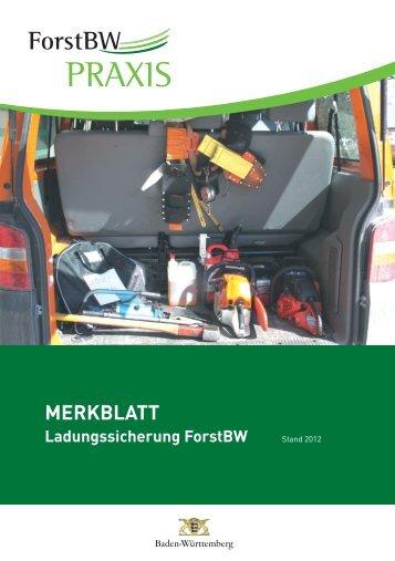 MERKBLATT - Forstliches Ausbildungszentrum Mattenhof