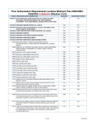 Prior Authorization Requirements Lovelace Medicare Plan HMO ...