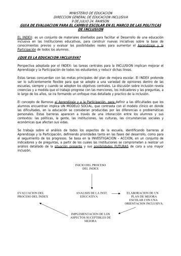 ministerio de educacion direccion general de educacion inclusiva 9