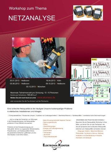 NETZANALYSE - Elektronik-Kontor Messtechnik GmbH