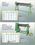 heller initial pinch plate bending rolls general brochure - Sterling ... - Page 3