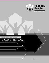 Medical Benefits - Patriot Coal