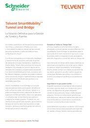 Documento - SmartMobility Tunnel (PDF, 441kb) - Schneider Electric