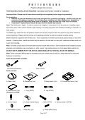 Console Top Handling Instructions - Page 2