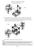 Console Top Handling Instructions - Page 4