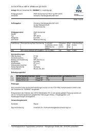 GUTACHTEN zur ABE Nr. 47124 nach §22 StVZO Anlage 16 zum ...