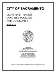 Light Rail Transit Land Use Policies and Guidelines - City of ...