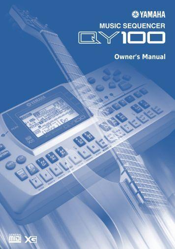 Owner's Manual - Yamaha