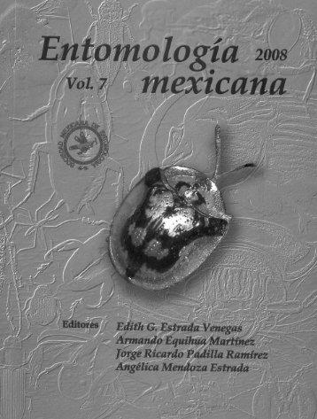 Page 1 Page 2 SOCIEDAD MEXICANA DE ENTOMOLOGÍA A.C. ...