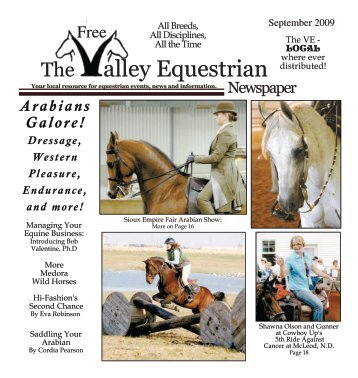 September 2009 - The Valley Equestrian Newspaper