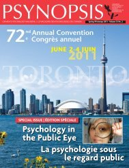 here - Canadian Psychological Association