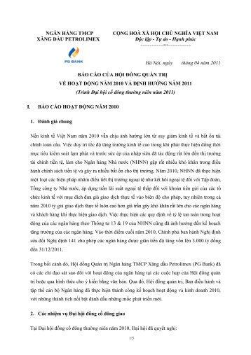 PG Bank_Bao cao cua HĐQT nam 2010.pdf