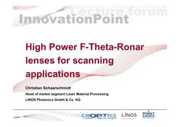 1400 F-Theta High Power